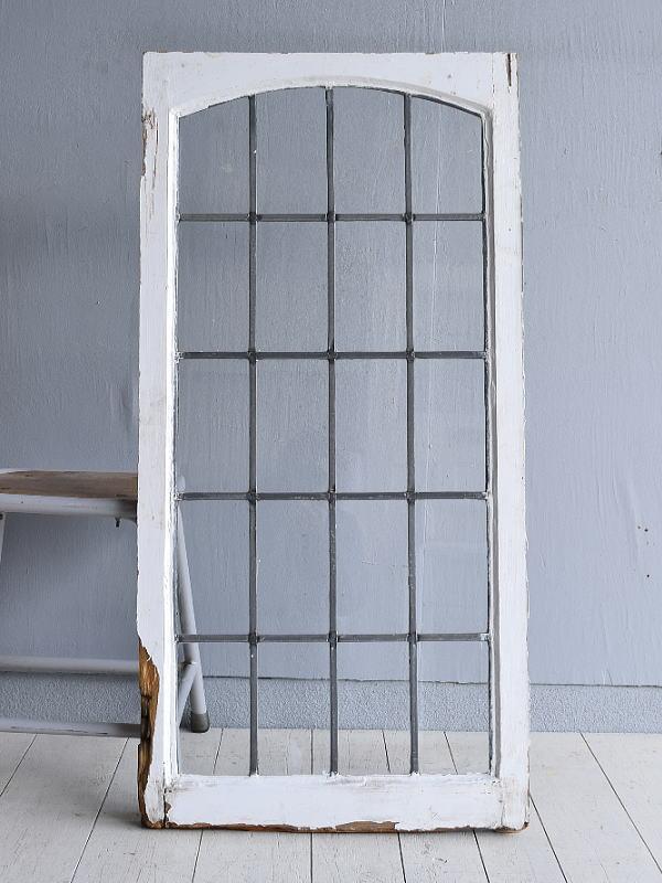 イギリス アンティーク 窓 無色透明 7761