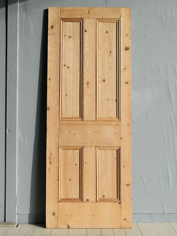 イギリス アンティーク オールドパイン ドア 扉 建具 7789