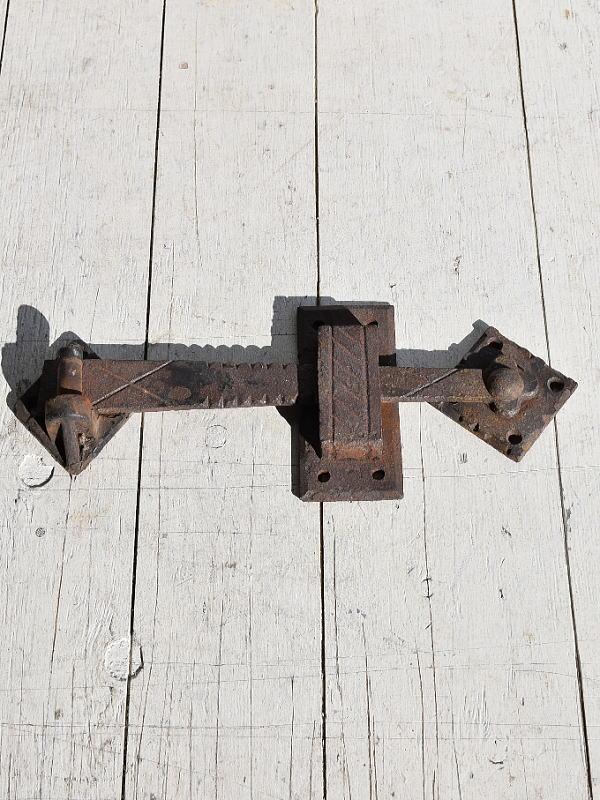 イギリスアンティーク 鉄製金物 鋳物 打掛 7803