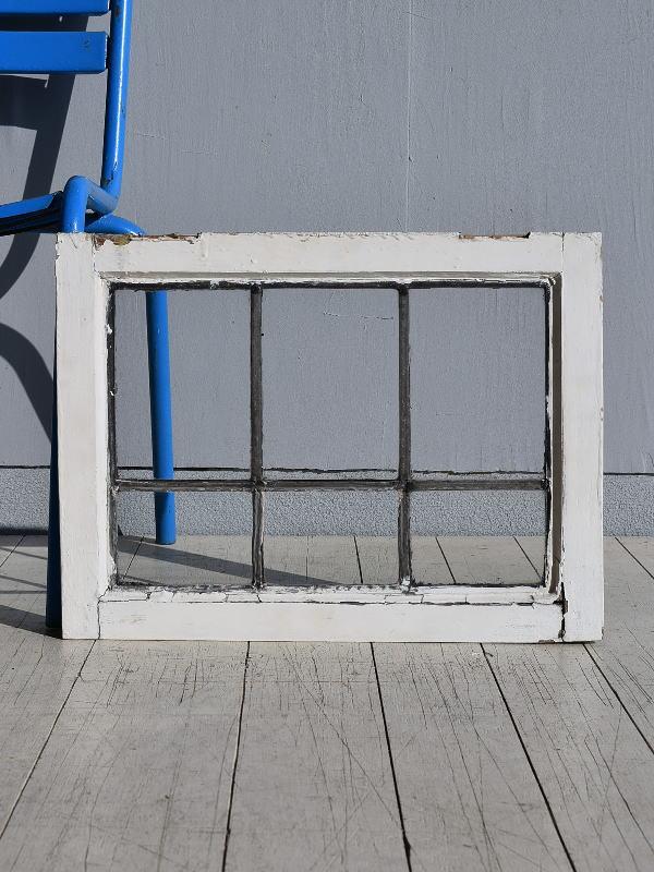 イギリス アンティーク 窓 無色透明 7805