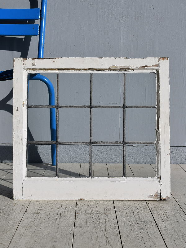 イギリス アンティーク 窓 無色透明 7806