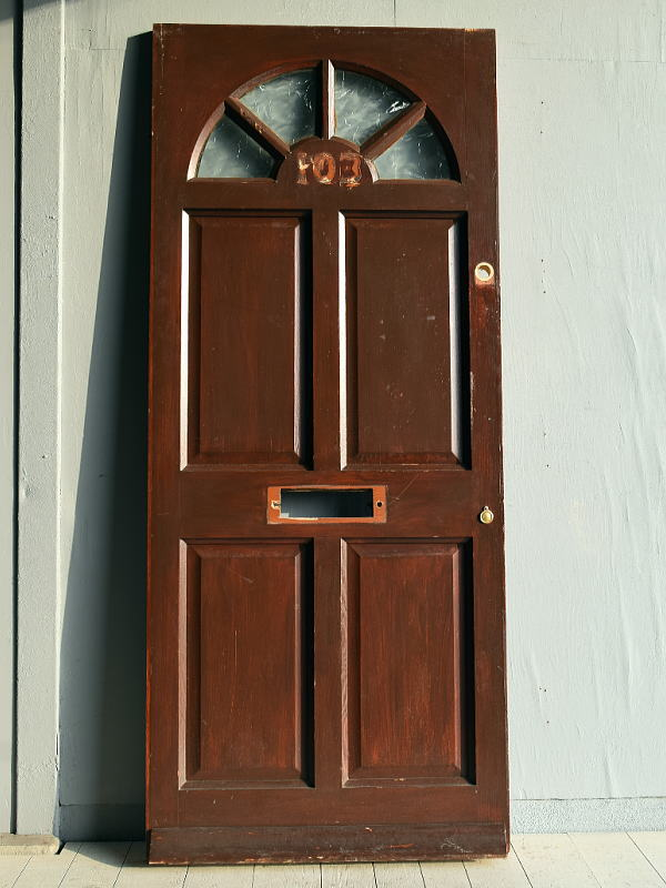 イギリス アンティーク ドア 扉 建具 ディスプレイ 7813