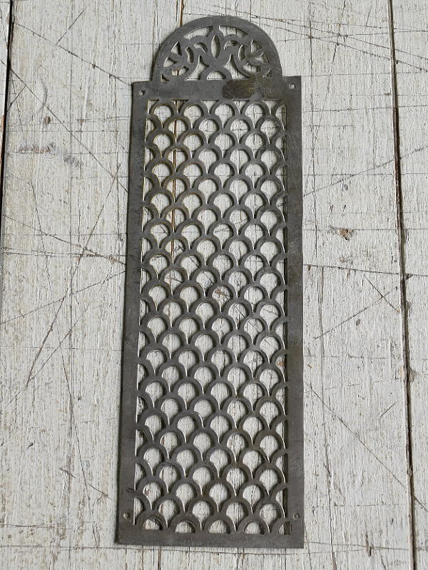 イギリス アンティーク 真鍮フィンガープレート ドアプレート 7828
