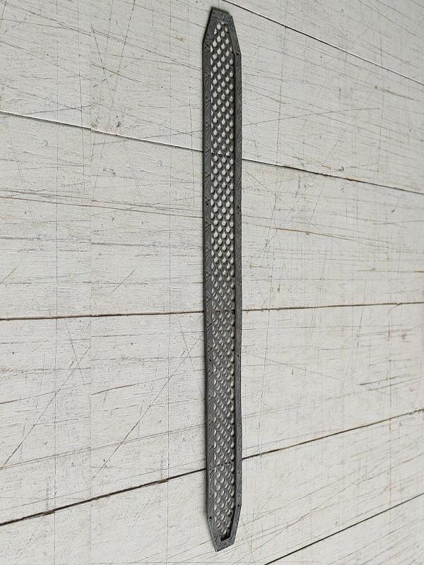 イギリス アンティーク 真鍮フィンガープレート ドアプレート 7831