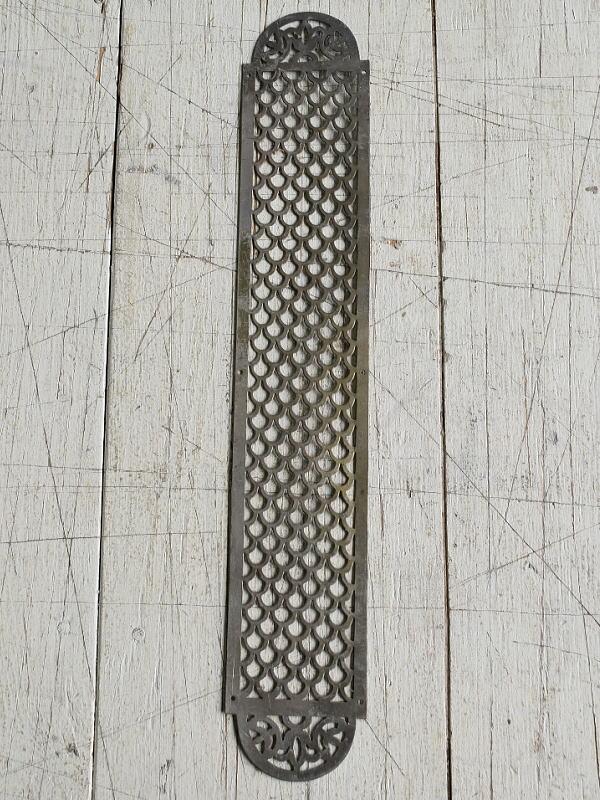 イギリス アンティーク 真鍮フィンガープレート ドアプレート 7836