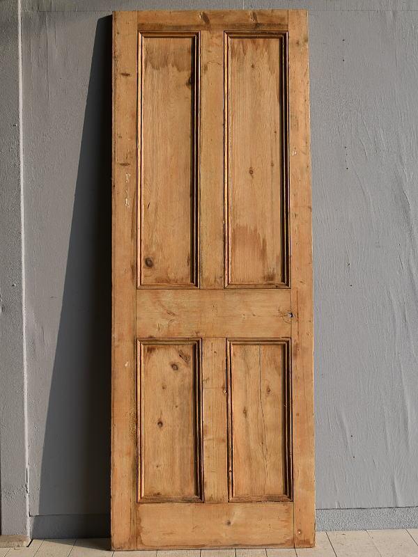 イギリス アンティーク オールドパイン ドア 扉 建具 7861