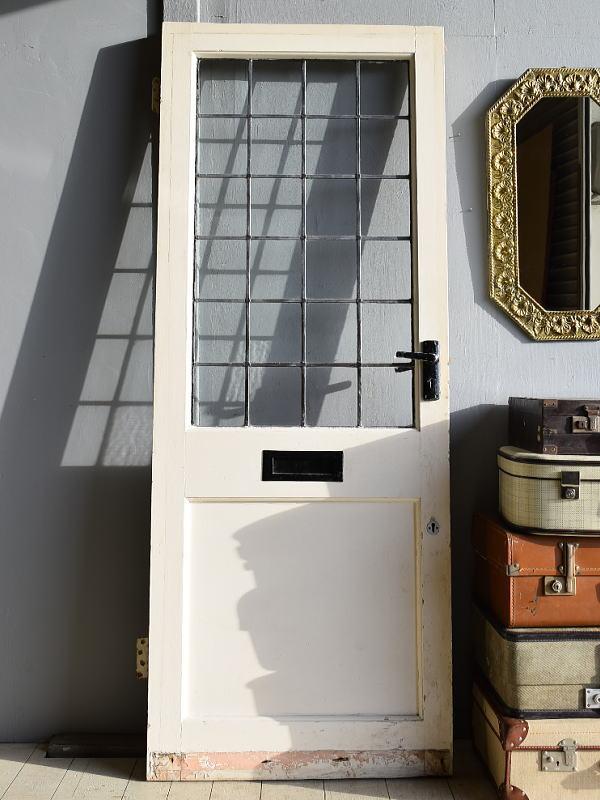 イギリス アンティーク ガラス ドア 扉 ディスプレイ 建具 7877