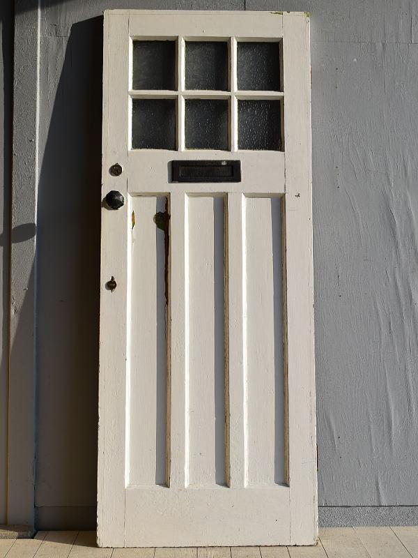 イギリス アンティーク ガラス ドア 扉 ディスプレイ 建具 7892