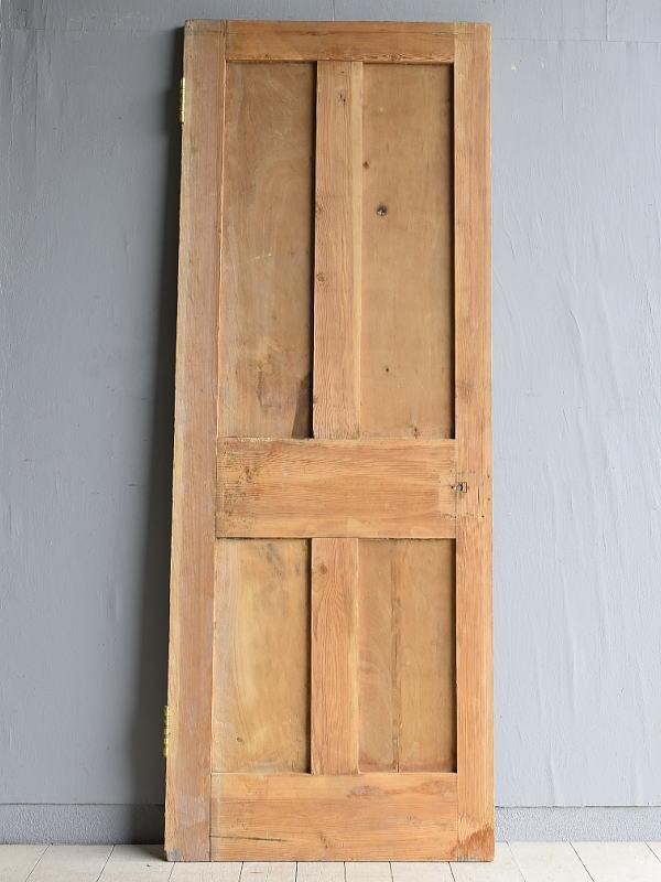 イギリス アンティーク オールドパイン ドア 扉 建具 7902