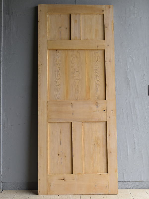 イギリス アンティーク オールドパイン ドア 扉 建具 7953