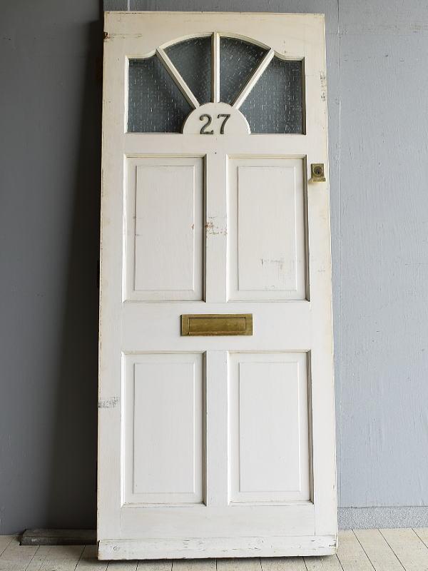 イギリス アンティーク ガラス ドア 扉 ディスプレイ 建具 7984