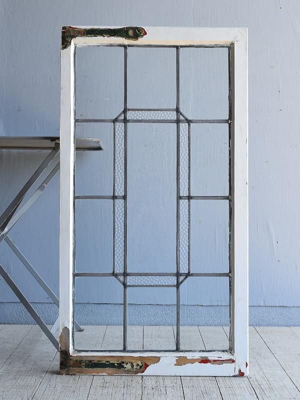 イギリス アンティーク 窓 無色透明 7999