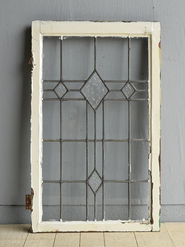 イギリス アンティーク 窓 無色透明 8012
