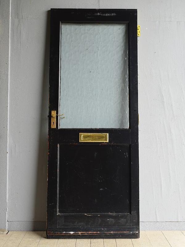 イギリス アンティーク ガラス ドア 扉 建具 8015