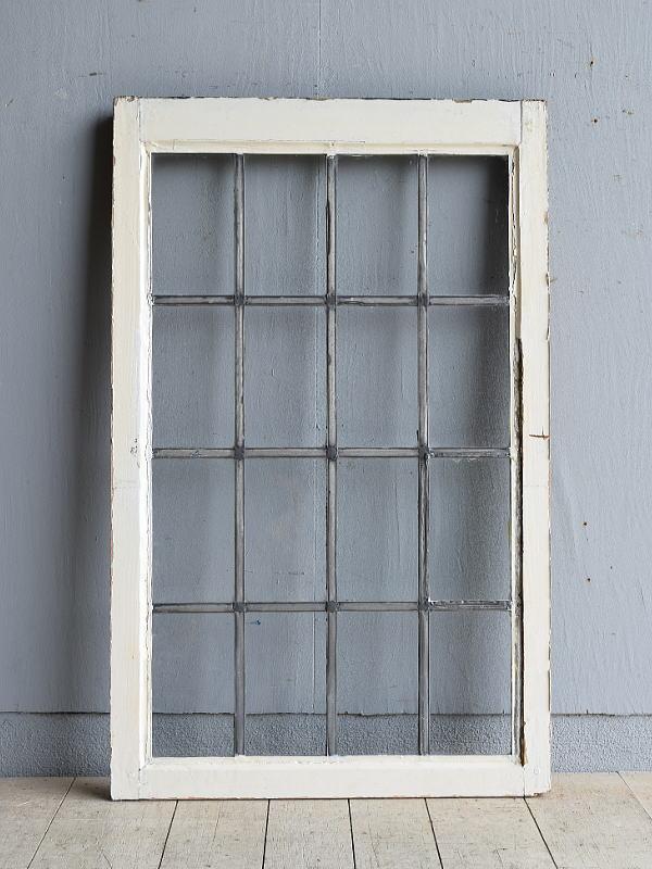 イギリス アンティーク 窓 無色透明 8101