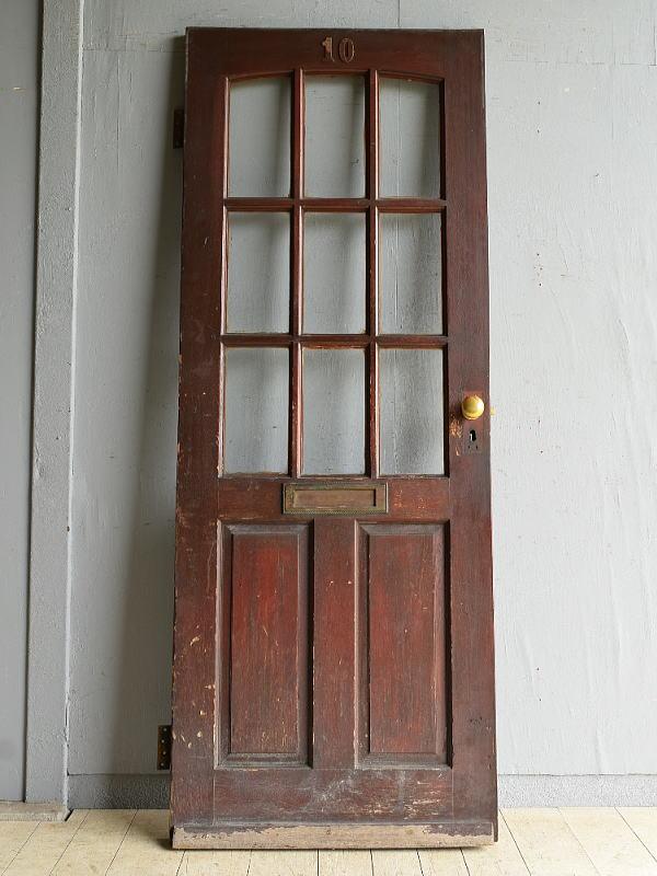 イギリス アンティーク ドア 扉 建具 8108