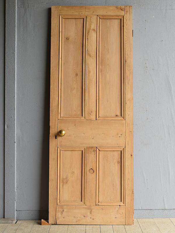 イギリス アンティーク オールドパイン ドア 扉  8126