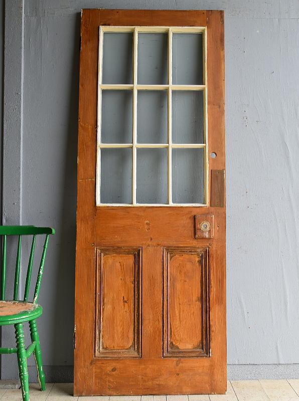 イギリス アンティーク ドア 扉 建具 8191