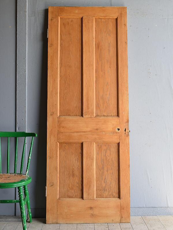 イギリス アンティーク パイン ドア 扉 建具 8195