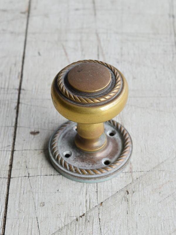 イギリス アンティーク 真鍮 ドアノブ 建具金物 握り玉 8200