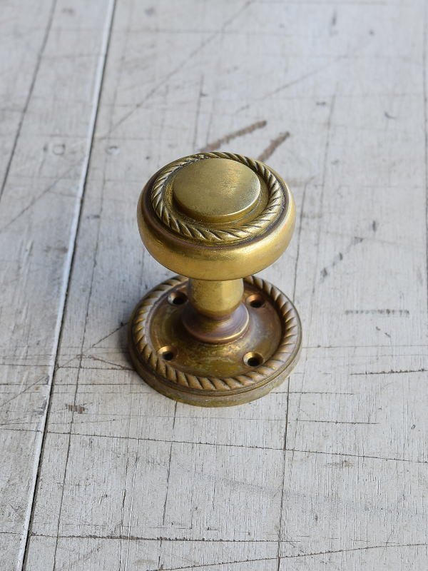 イギリス アンティーク 真鍮 ドアノブ 建具金物 握り玉 8207