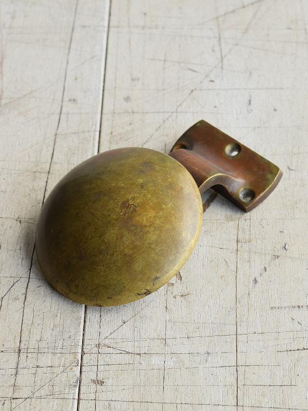 イギリス アンティーク 真鍮ハンドル 建具金物 取っ手 8224