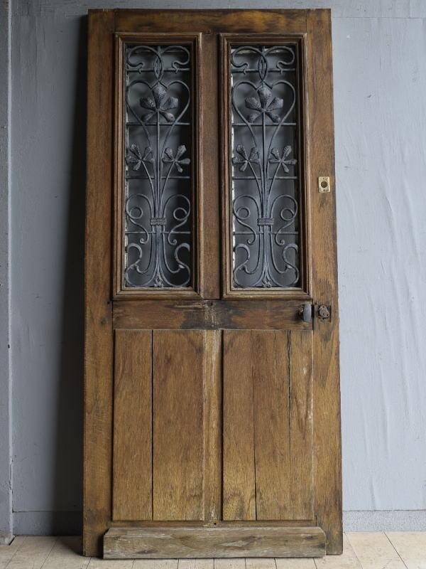 フレンチ アンティーク ドア 扉 ディスプレイ 建具 8228