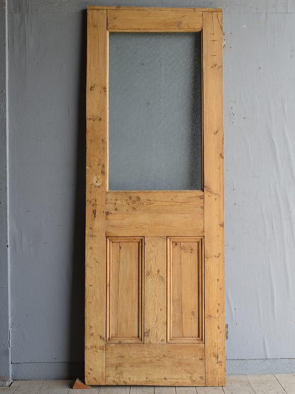 イギリス アンティーク パインドア 扉 建具 8231
