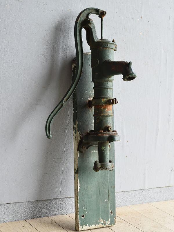 イギリス アンティーク ウォーターポンプ 井戸 ガーデニング 8247