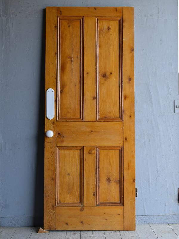 イギリス アンティーク オールドパイン ドア 扉 8288