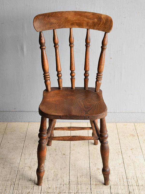 イギリス アンティーク家具 キッチンチェア 椅子 8350