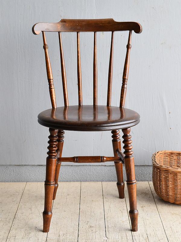 イギリス アンティーク家具 キッチンチェア アイベックスチェア 椅子 8367