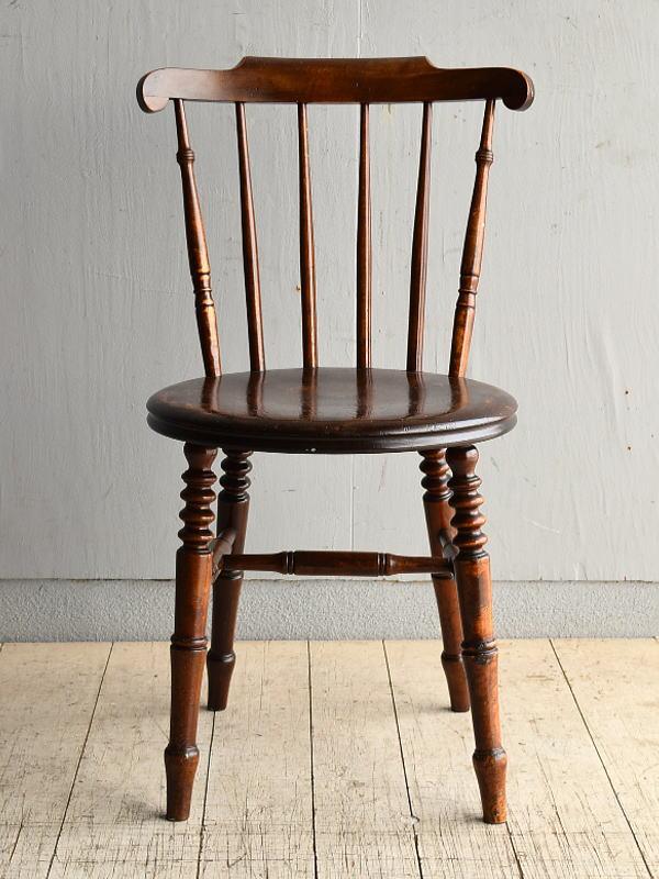 イギリス アンティーク家具 キッチンチェア アイベックスチェア 椅子 8369