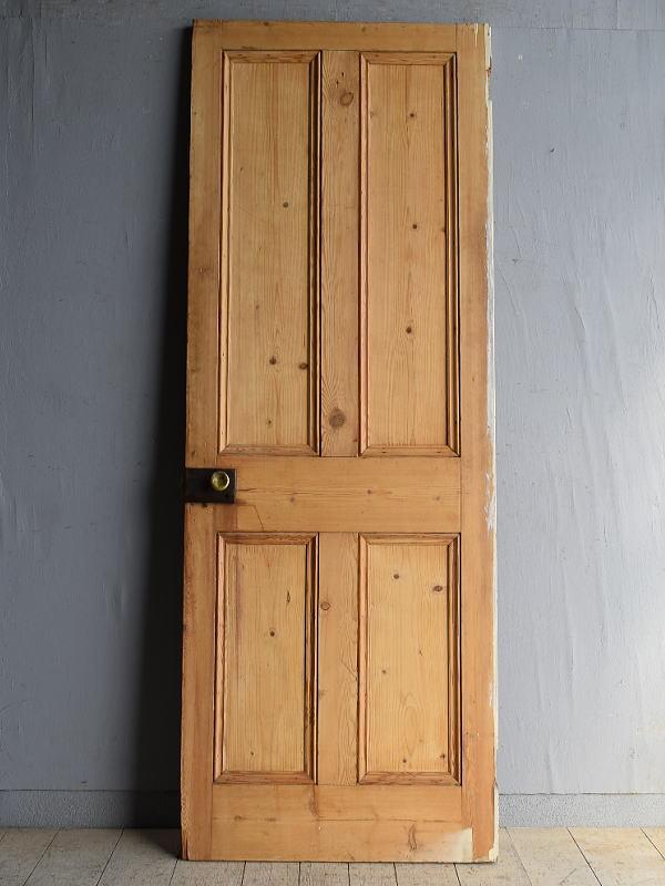 イギリス アンティーク オールドパイン ドア 扉 8399