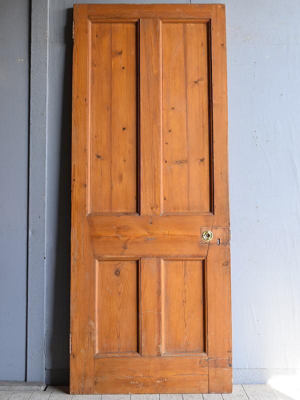 イギリス アンティーク オールドパイン ドア 扉 8400