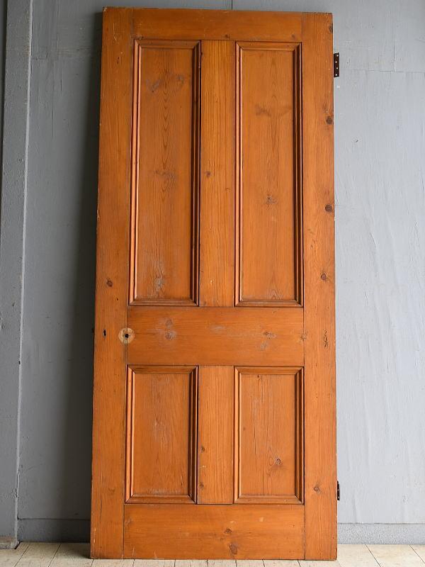 イギリス アンティーク オールドパイン ドア 扉 8425