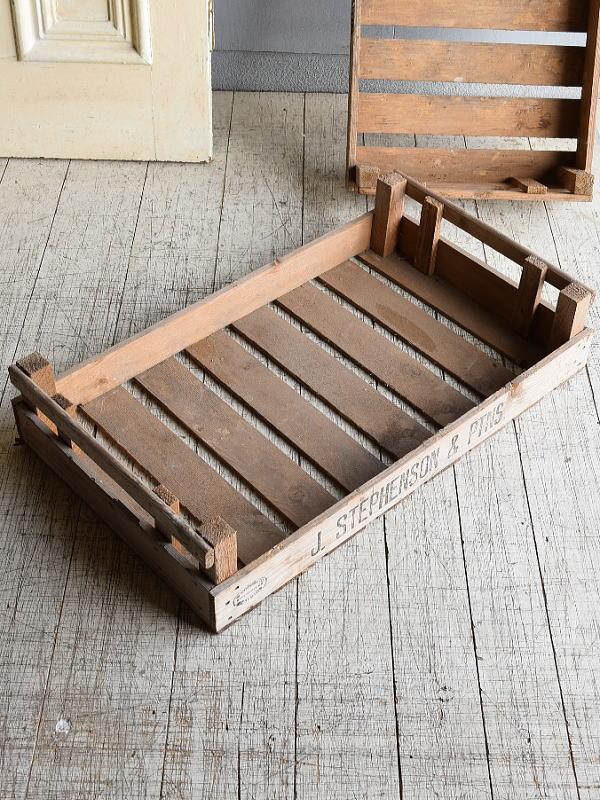 イギリスアンティーク 木箱 ガーデニング 8439
