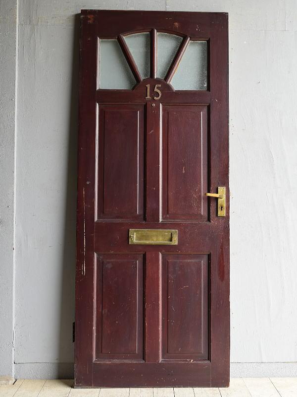 イギリス アンティーク ドア 扉 建具 8455