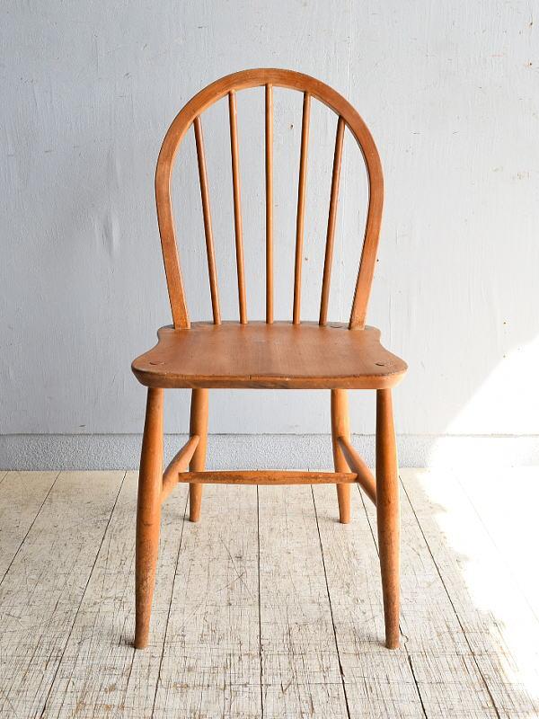 イギリス アンティーク家具 キッチンチェア 椅子 8462