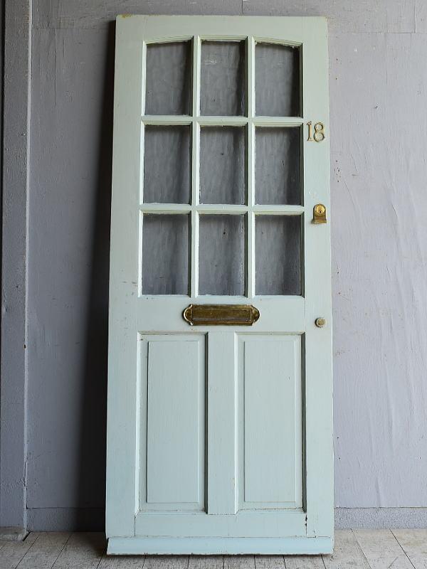 イギリス アンティーク ドア 扉 建具 8463