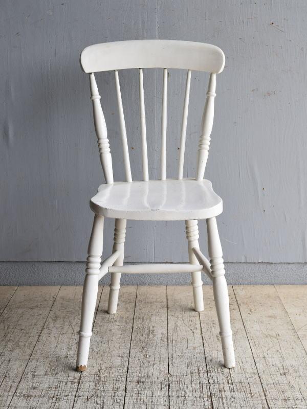 イギリス アンティーク家具 キッチンチェア 椅子 8476