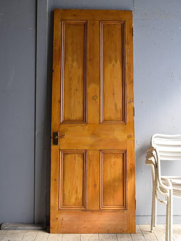 イギリス アンティーク オールドパイン ドア 扉 8490