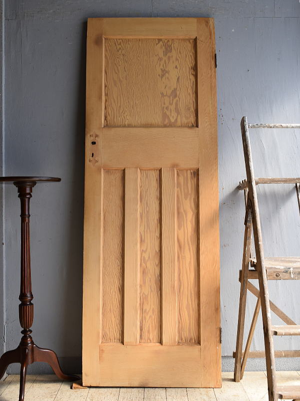 イギリス アンティーク パイン ドア 扉 建具 8499