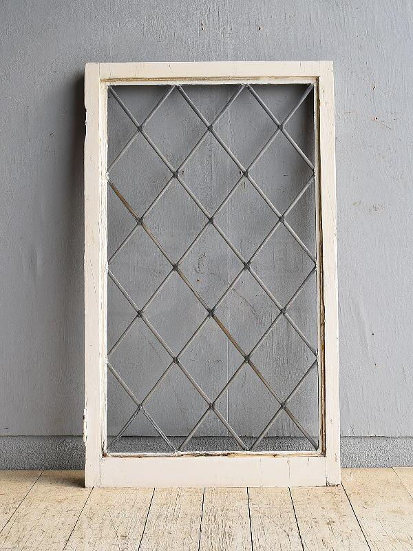イギリス アンティーク 窓 ディスプレイ 建具 8505