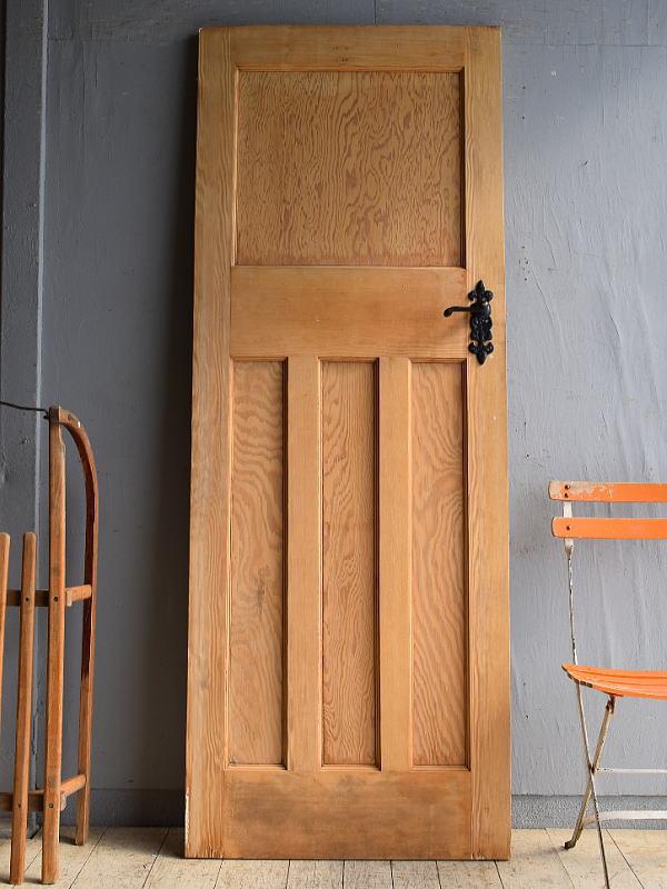 イギリス アンティーク パイン ドア 扉 建具 8508