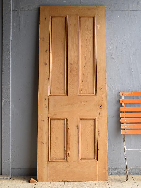 イギリス アンティーク パイン ドア 扉 建具 8512