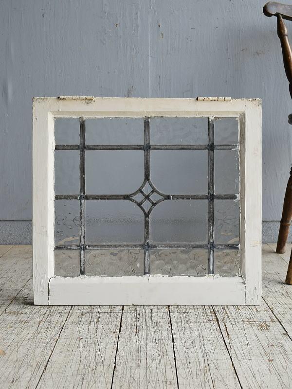 イギリス アンティーク 窓 無色透明 8519