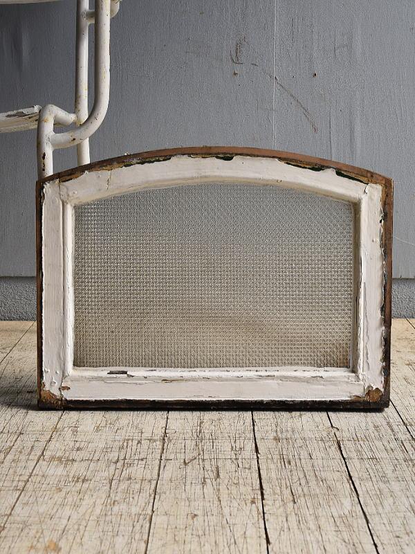 イギリス アンティーク 窓 プレスガラス 8522