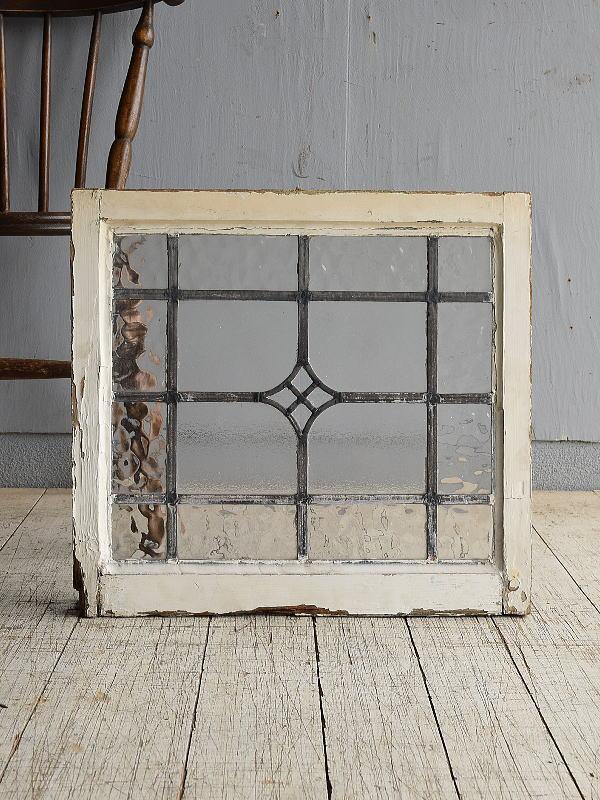 イギリス アンティーク 窓 無色透明 8526