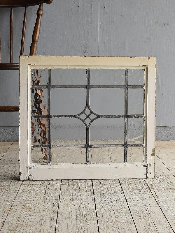 イギリス アンティーク 窓 無色透明 8527